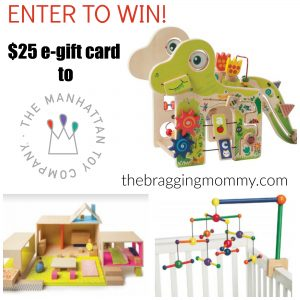 {Brag Worthy Christmas} Playful Dino from Manhattan Toy is a Must Have for Baby! + $25 GC Giveaway