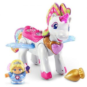 {Brag Worthy Christmas} Vtech Go! Go! Smart Friends Twinkle the Magic Unicorn, Parker gives it 2 thumbs up!