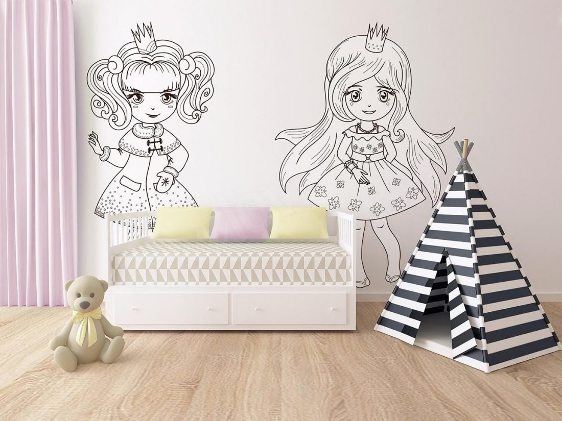 Wall Murals For Coloring