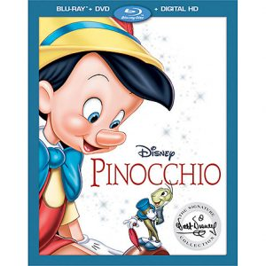 Walt Disney Signature Collection PINOCCHIO Now Available on Blu-ray & Digital HD