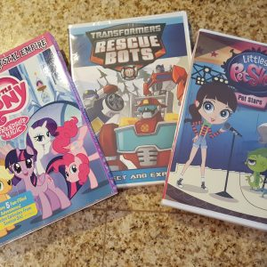 February TV Round-Up ~ My Little Pony, Littlest Pet Shop, & Transformers DVDs Giveaway (2 Winners!)