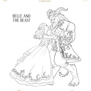 Beauty and the Beast Coloring Sheets + 2 New Clips #BeautyAndTheBeast #BeOurGuest
