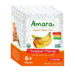Amara Organic Foods Healthy Organic Baby Food Review and Discount!