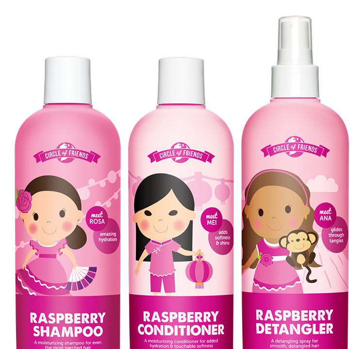 Salon quality hair care for kids circle of friends review for Salon quality shampoo