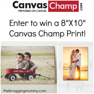Canvas Champ Canvas Prints Review, Discount, and Giveaway!