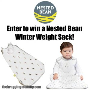 Nested Bean Zen Swaddle and Winter Weight Sacks Review and Giveaway!