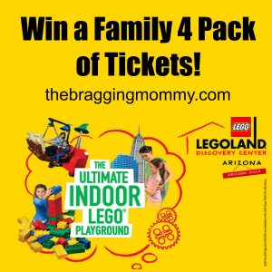 Win A Family 4 Pack of Tickets to LEGOLAND Discovery Center Arizona for LEGO Batman Days!