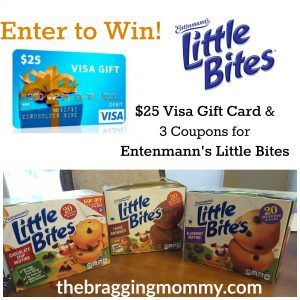 Little Bites Muffins are the Perfect Snack for the Whole Family #LoveLittleBites + $25 Visa GC & Coupons Giveaway