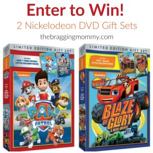 Paw Patrol & Blaze and the Monster Machines Limited Edition Gift Sets Giveaway