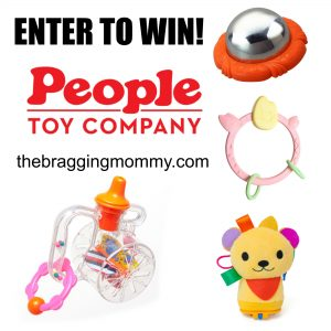 Fun New Toys For Baby from People Toy Company + Toy of Choice Giveaway