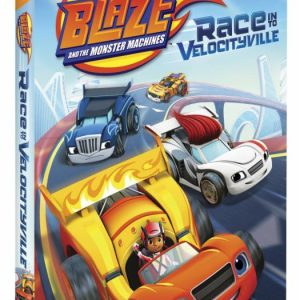 Blaze and the Monster Machines: Race Into Velocityville DVD Giveaway