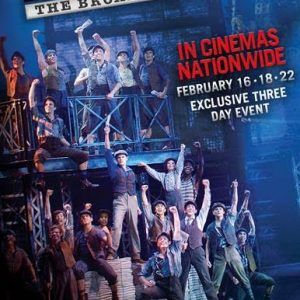 Tony Award®-winning musical NEWSIES to cinemas nationwide + Giveaway! (5 winners!)