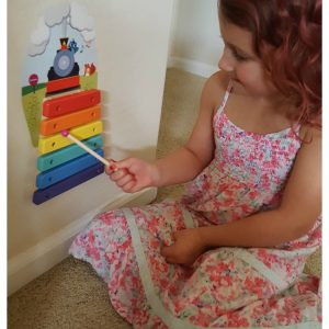 Keep the Floor Clean with Vertiplay Wall Toys! Musical Rail Track Xylophone Review + Discount Code