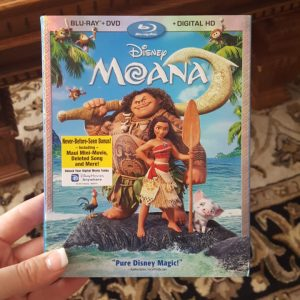 MOANA is now Available on Blu-ray, DVD, & Digital HD! #Moana