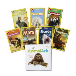 My Kids love to read with National Geographic Kids Leveled Readers and Super Readers!