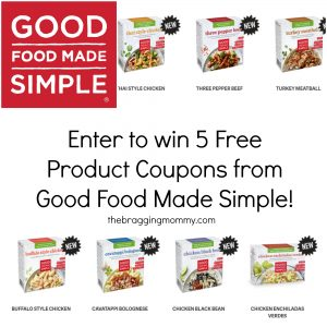 Good Food Made Simple Frozen Entree Meals Review and Giveaway!