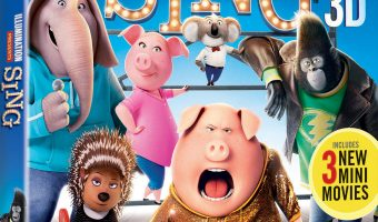 SING Blu-ray Giveaway (3 Winners!) #SingMovie