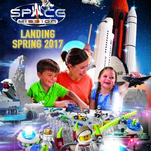 LEGOLAND Discovery Center Arizona's Space Mission Exhibit Grand Opening This Weekend!