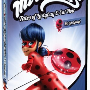 Miraculous Tales of Ladybug & Cat Noir: It's Ladybug DVD Giveaway (3 winners!)