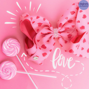 We Love Jojo's Bows from Claire's!
