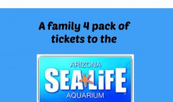 SEA LIFE Arizona Aquarium Family 4 Pack of Tickets Giveaway