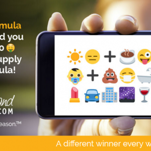 Share Your Emoji Parenting Formula for a Chance to Win $1000 & A Year of Formula + $25 Visa Gift Card Giveaway #ShareYourFormula