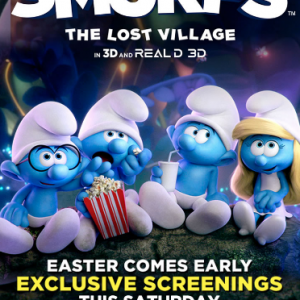 See SMURFS: THE LOST VILLAGE 2 Weeks Early! #SmurfsMovie