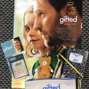 Utah Readers ~ Enter to Win Free Tickets to See GIFTED at an Early Screening in SLC! +Prize Packs Giveaway #GiftedMovie