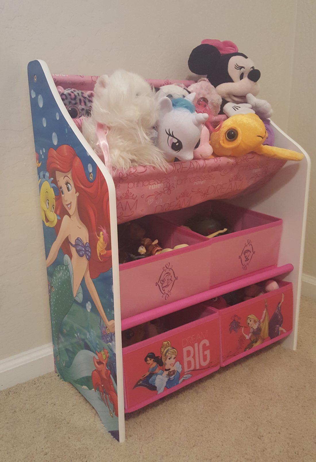 Delta Children Disney Princess Book And Toy Organizer Review
