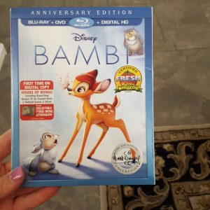 BAMBI Anniversary Edition Now Available on Digital HD and on Blu-ray June 6th #BambiBluray