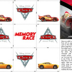 Grab These Free Cars 3 Printable Activity Sheets + New Trailer. #Cars3 Opens June 16th