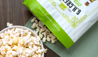 G.H. Cretors Obsessively Delicious Popcorn is the Perfect Snack for at Home Movie Nights!