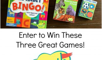 Peaceable Kingdom Games – Sport Playing Cards, Zoo Match Up and Alphabet Bingo Review and Giveaway!