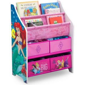 Delta Children Disney Princess Book and Toy Organizer Review
