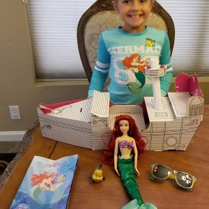 Unboxing Disney Princess #Pley Toy Subscription Box ~ June 2017 #Ariel