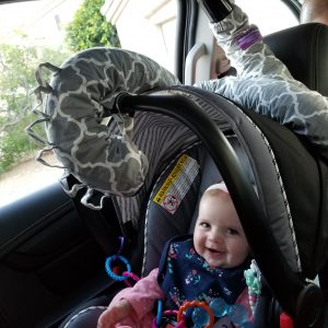 Keep Baby Cool While Driving in the Car with The Noggle + Giveaway