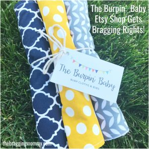 The Burpin' Baby Softest Burp Cloths & Bibs Review and 20% Off Discount!