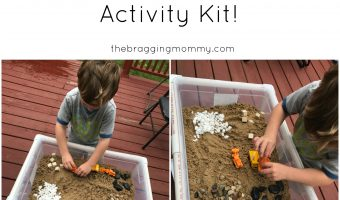 TeacherTurnedMom Gooshy Sensory Table and Construction Sensory Kit Review and Giveaway!