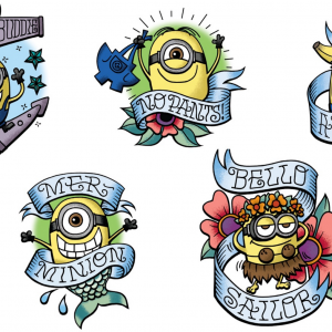 Get FREE #DespicableMe3 Tattoos at Tempe Marketplace #Phoenix This Weekend (6/23-25)