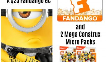 Get These Fun Despicable Me 3 Mega Construx Micro Action Figure Packs! Plus $25 Fandango GC Giveaway