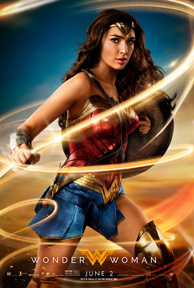 Wonder Woman Film Review~ Now Playing In Theaters!! #WonderWoman