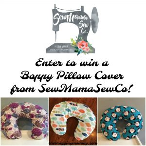SewMamaSewCo Boppy Pillow Cover Review and Giveaway!