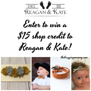 Reagan and Kate Stylish and Affordable Baby Accessories Review, 15% Discount, and Giveaway!