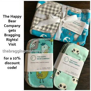The Happy Bear Company – Apparel and Accessories Review and 10% Discount!