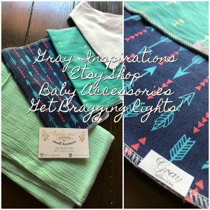 Gray Inspirations Handmade Baby and Toddler Accessories Review and 15% Off Discount!