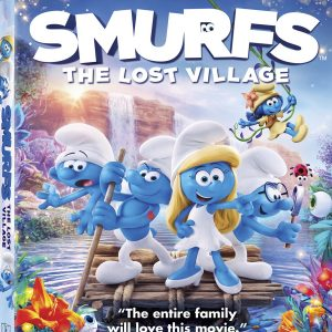 SMURFS: The Lost Village is Now Available on Blu-ray and Digital!  #SmurfsMovie