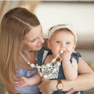 Teething in Style ~ Trendy Teethers Teething Necklace Review