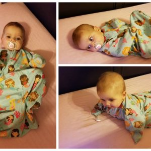 How to Transition Your Baby Out of a Swaddle, The Easy Way! Zipadee-Zip Review and Giveaway