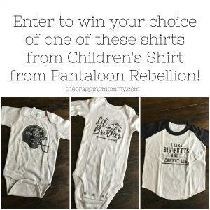 Pantaloon Rebellion Funny T-Shirts and Baby Outfits Review, 20% Discount, and Giveaway!