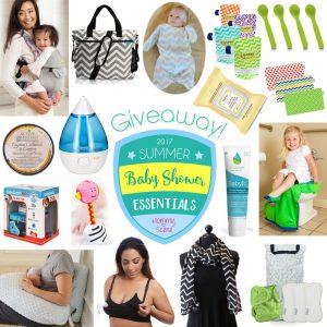 2017 Summer Baby Shower Essentials Giveaway